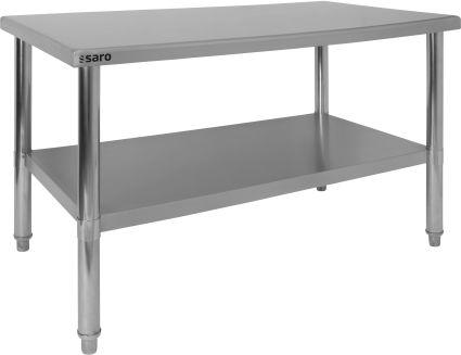 Stainless steel table Model AMELIE | Saro