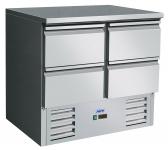 Cooled workingtable Model VIVIA S901 s/s Top 4 x 1