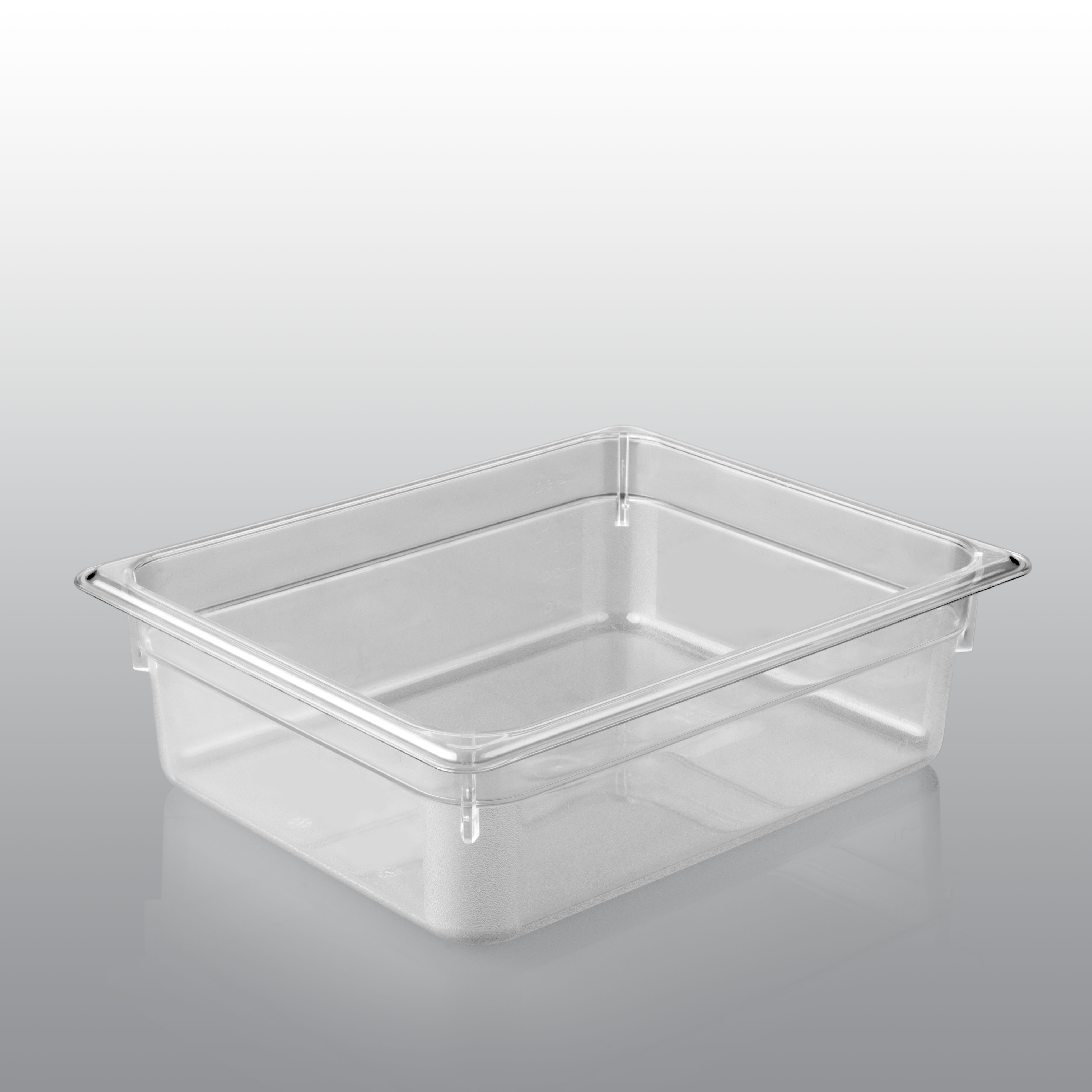 Gn container polycarbonate 1 2 gn 200 mm depth saro for 200mm wide kitchen wall unit