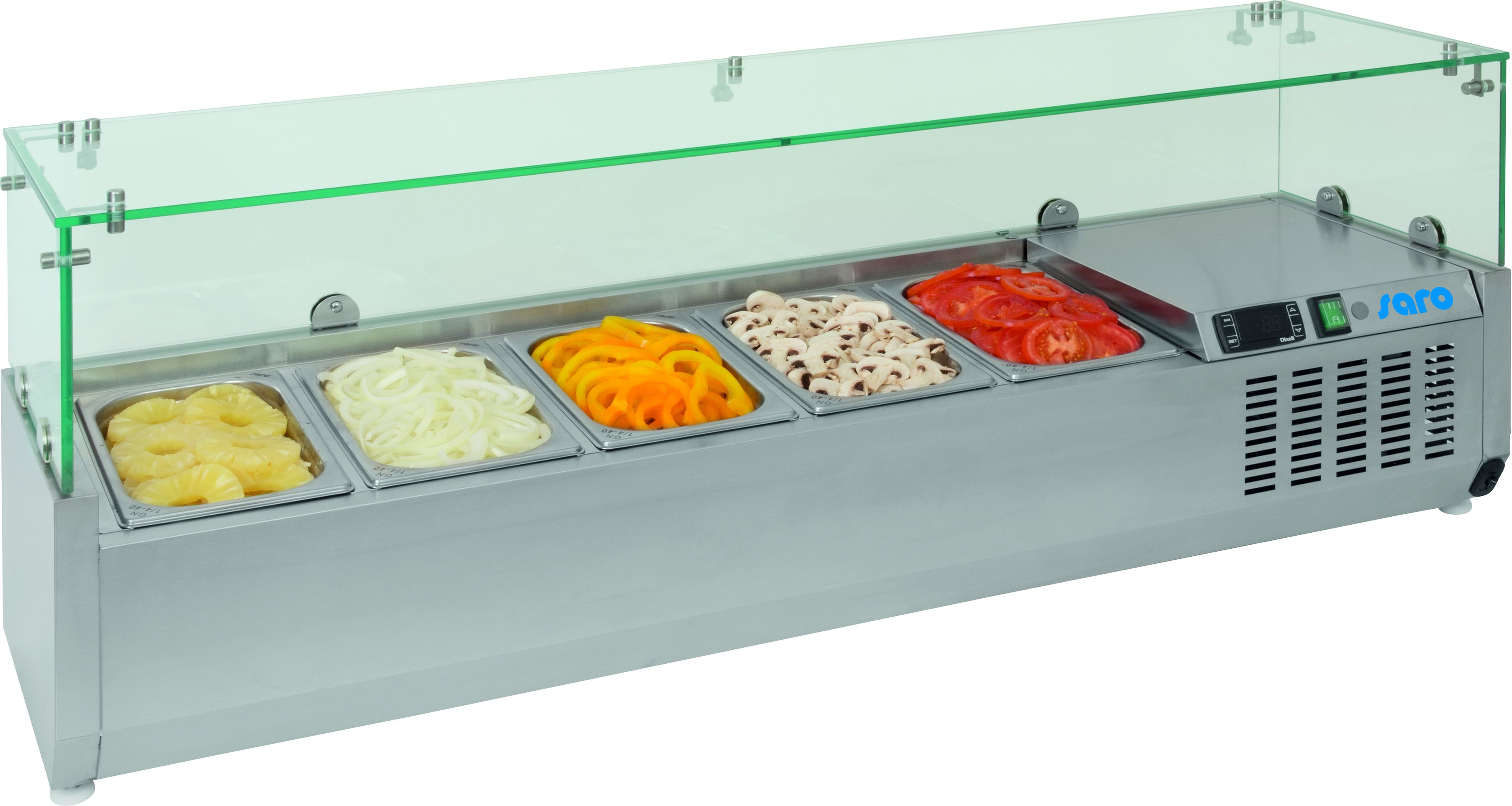Refrigerated Table Top Display VRX 1800/330 | Saro