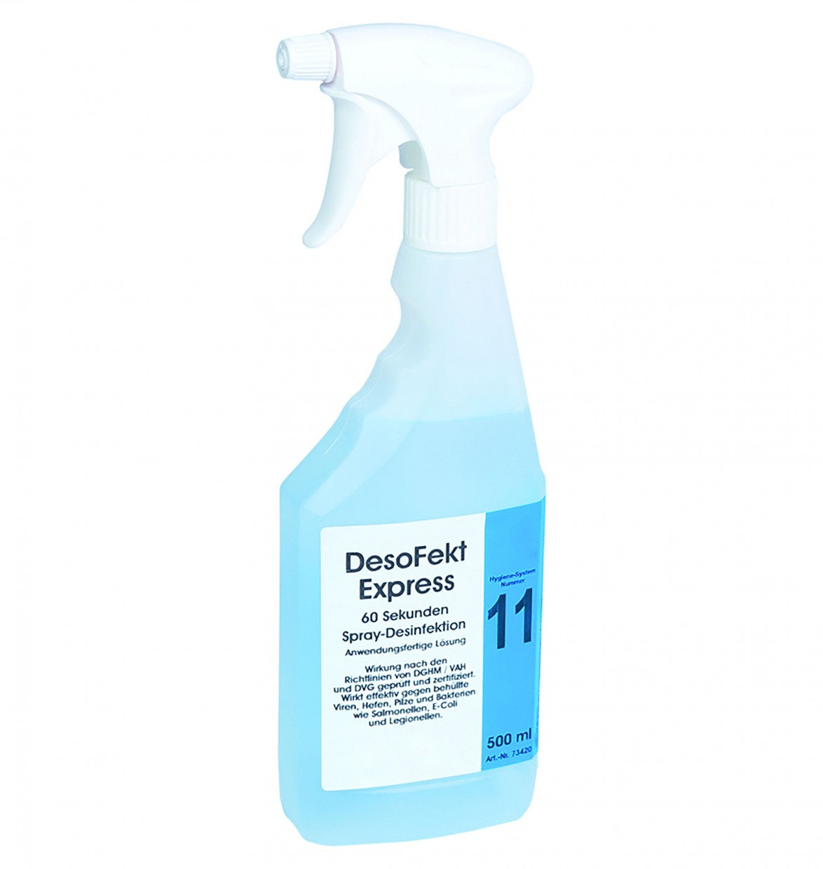 DesoFekt Express 60 Sekunden Spray-Desinfektion