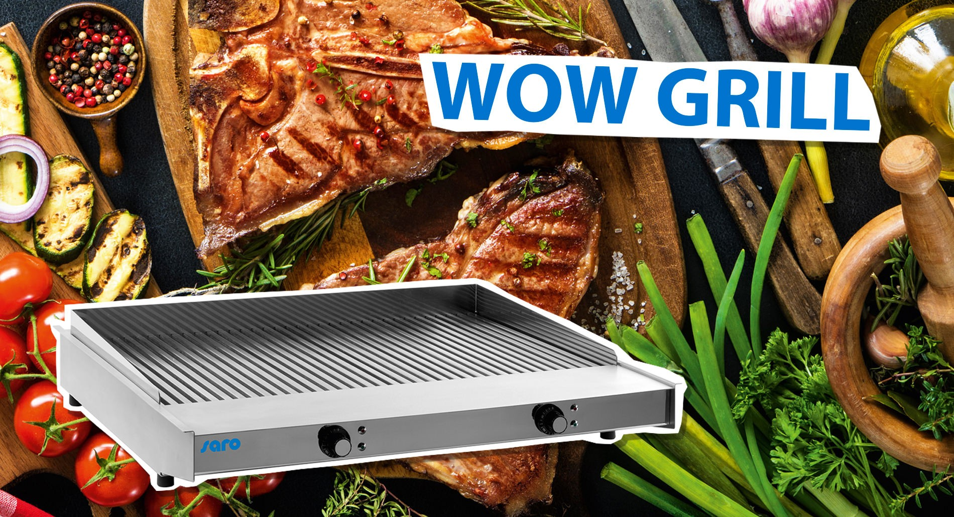 WOW GRILL - For a great grill experience